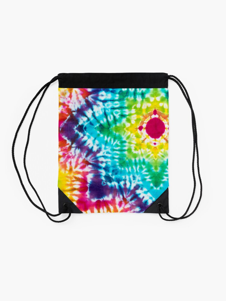 Alternate view of Tye Dye 7 Drawstring Bag