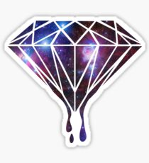 Galaxy Diamond Sticker