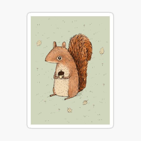 Sarah the Squirrel Sticker