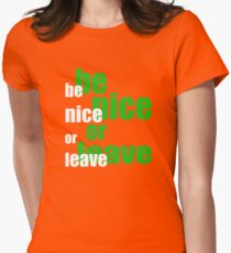 be nice or leave - New Orleans T-Shirt