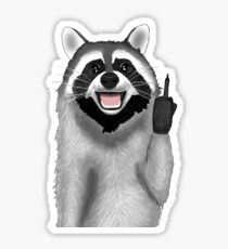 Bad Raccoon Sticker