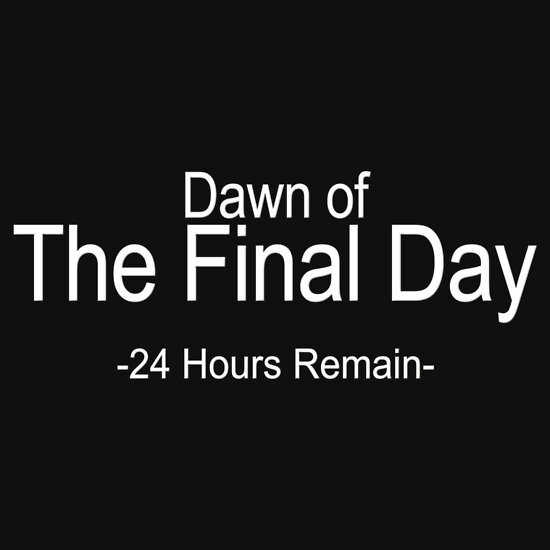 TShirtGifter presents: 24 Hours Remain