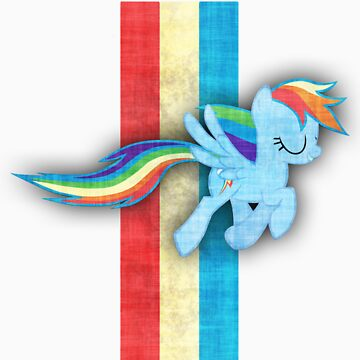 Rainbow Dash Mustang by sirhcx