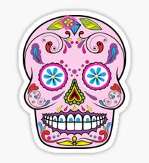 skull rose 2 Sticker