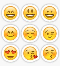 Smilies Emoji (Pack A) Sticker