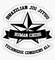 star BJJ Sticker