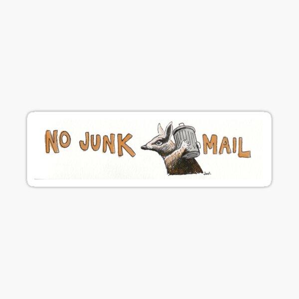 No Junk Mail - Numbat Sticker