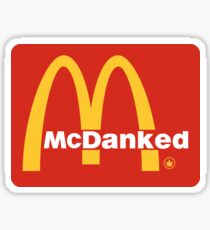 McDanked Sticker