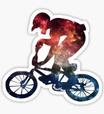 BMX Galaxy Sticker