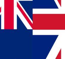 Australia & United Kingdom Sticker