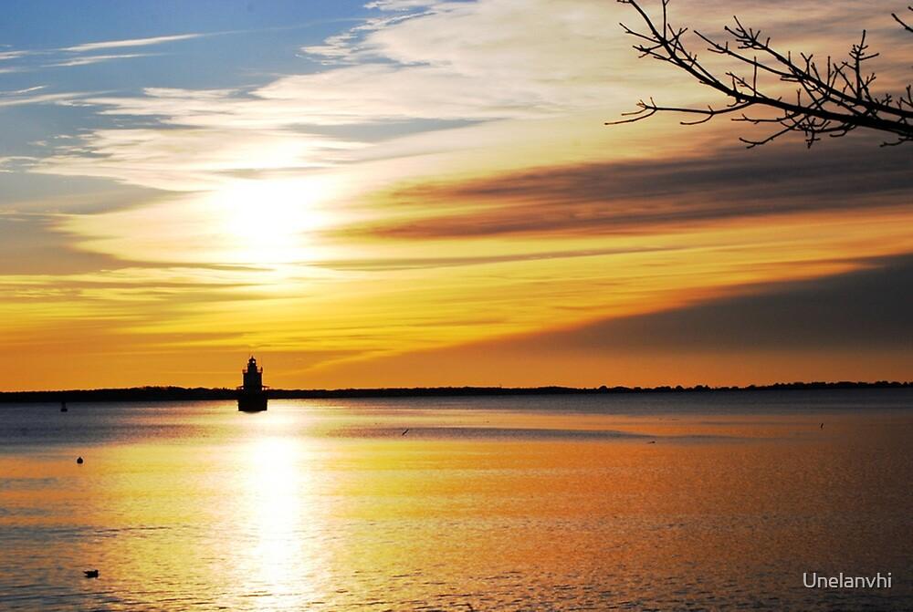 Lighthouse # 3  by Unelanvhi