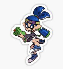 Splatoon Sticker - Inkling Boy (Blue) Sticker