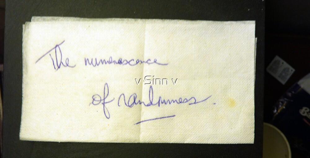 Numenescence by v Sinn v