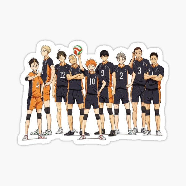 Haikyuu!!- Karasuno Sticker