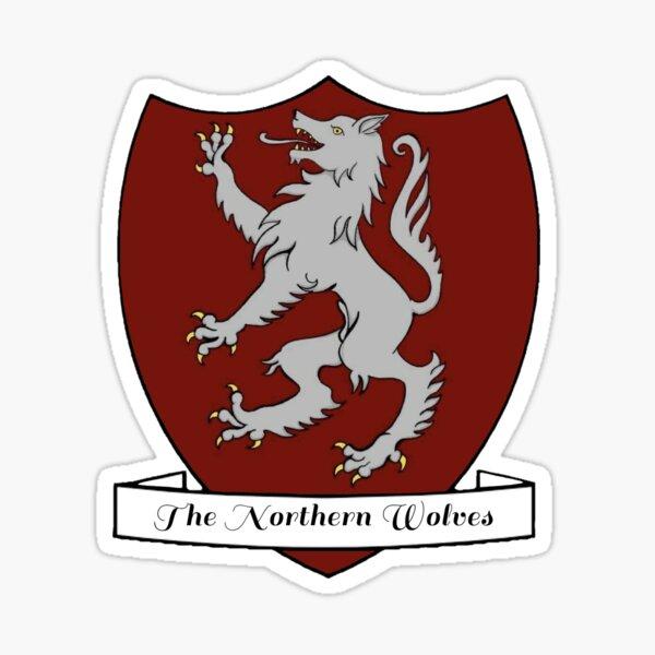 The Northern Wolves HMB Team Sticker