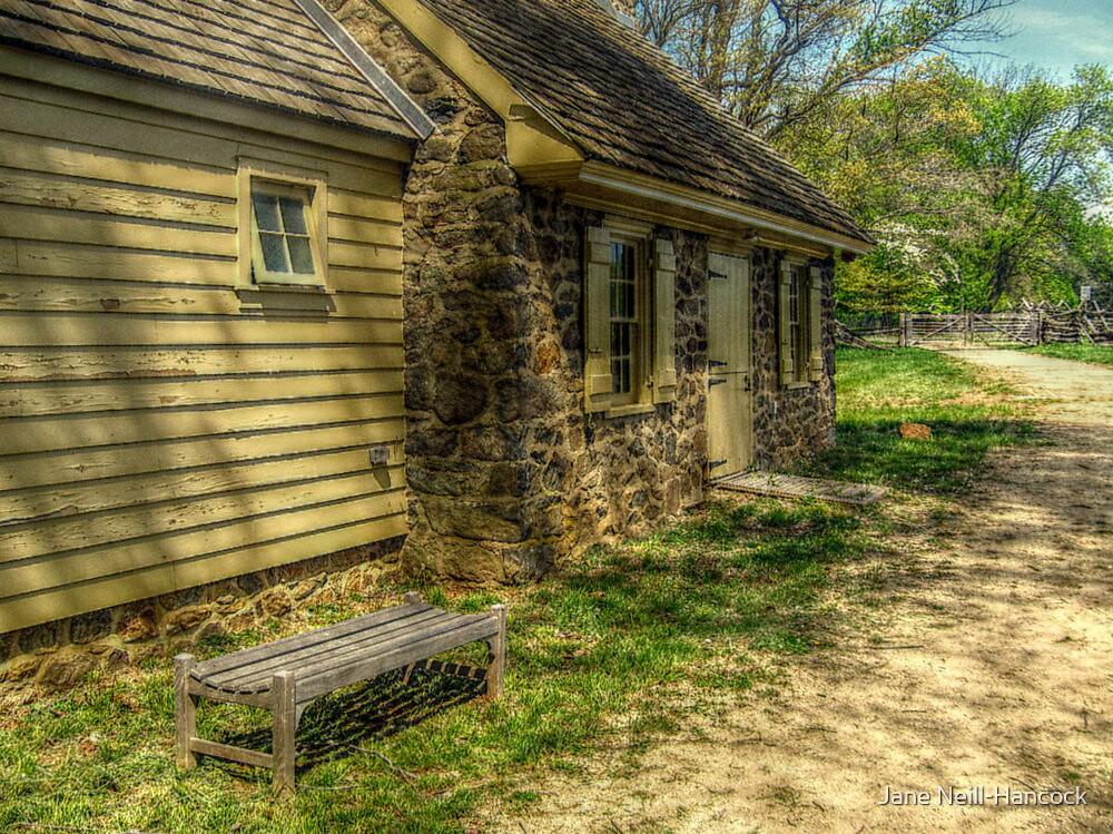 Stone Cottage at Rockingham, Kingston, NJ by Jane Neill-Hancock