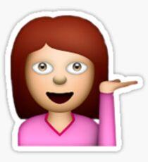 girl emoji Sticker