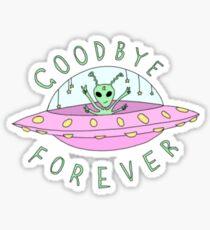 goodbye Sticker