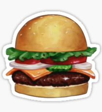 Krabby Patty Sticker