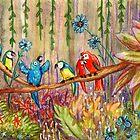 Jungle Birds by Sophie Corrigan
