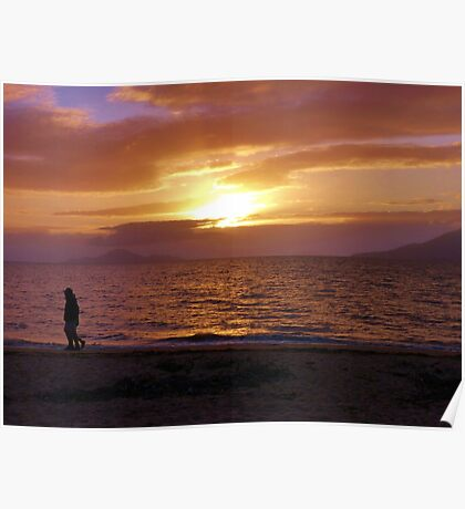 Cardwell Beach Sunrise Poster