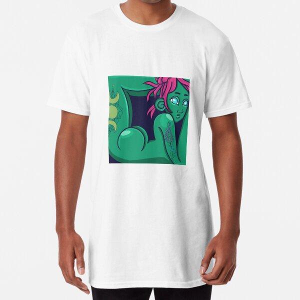T R A P P E D - Lavender Long T-Shirt