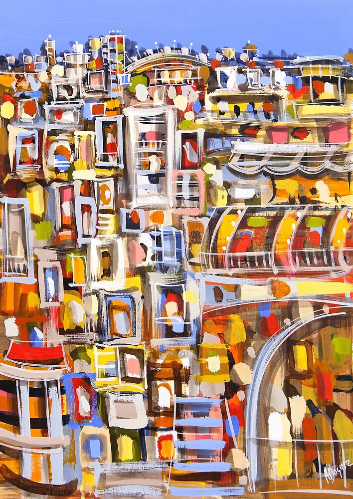 Urban complex by Adam Bogusz
