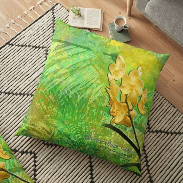 GARDEN WALK SERIES _ Harvest Garden Walk - Shankaran Barron Collection Floor Pillow
