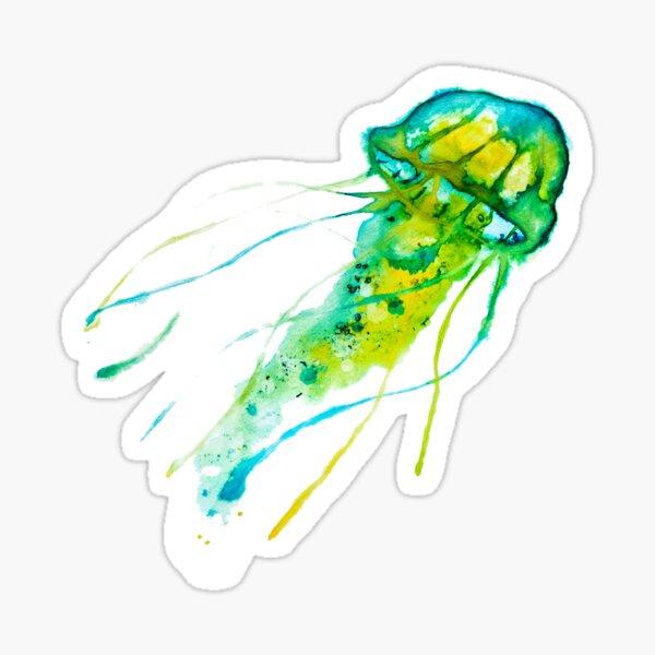 Sunya the Jellyfish Sticker