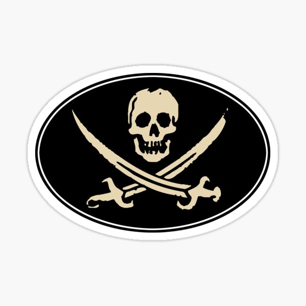 Jolly Roger - Sticker Sticker