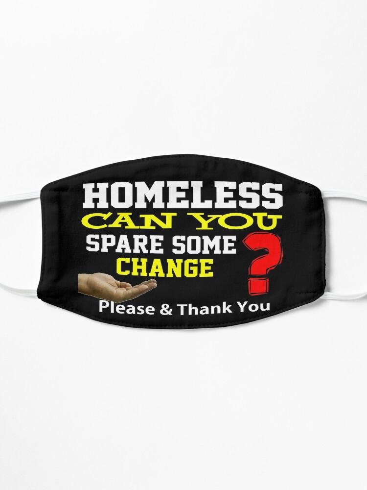 Alternate view of Homeless Design Mask