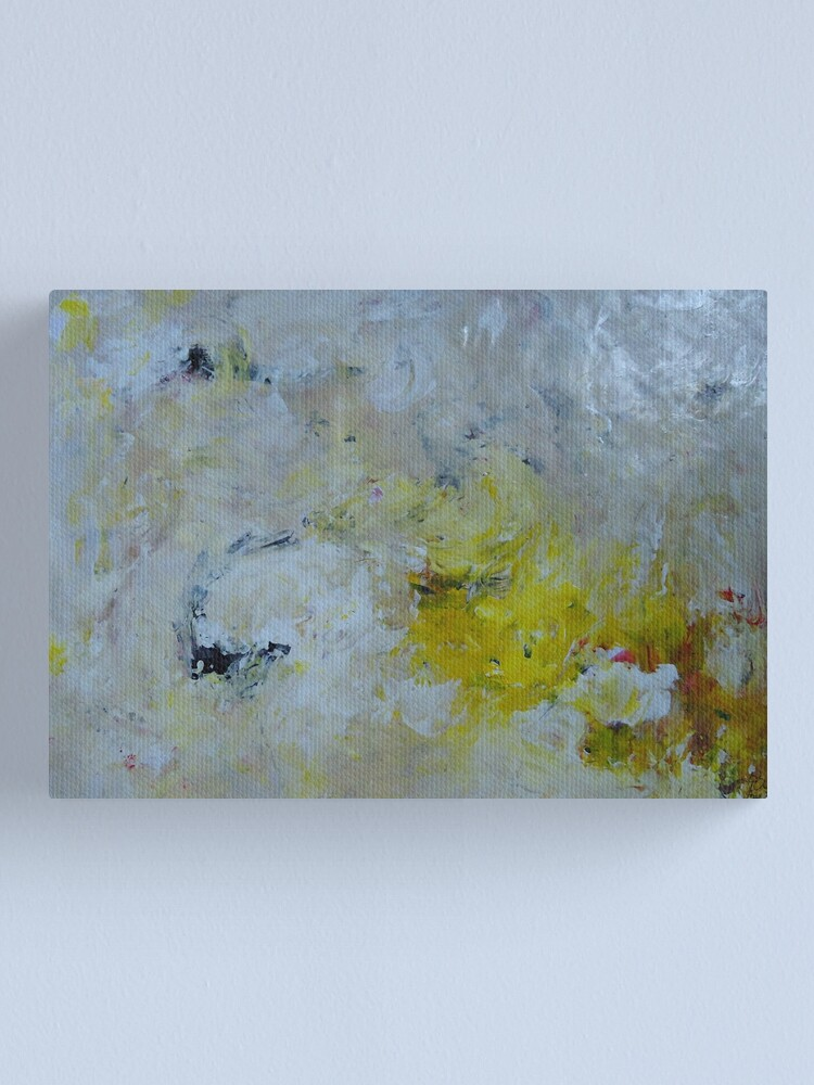 Alternate view of abstract painting Canvas Print