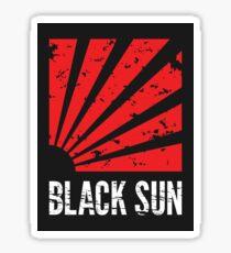 Black Sun - Sticker Sticker