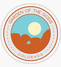 Garden of the Gods:  Kissing Camels Sticker