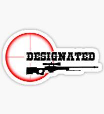 Designated Awper Sticker
