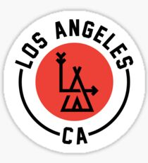 LA - Los Angeles Sticker