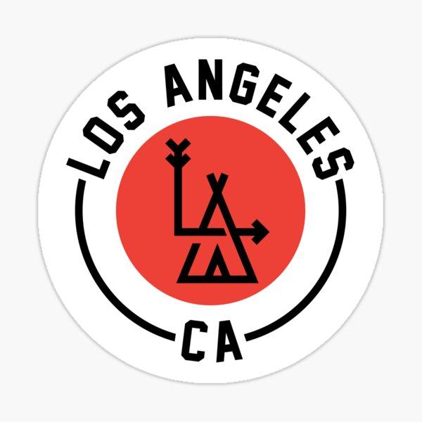 LA - Los Angeles Pegatina