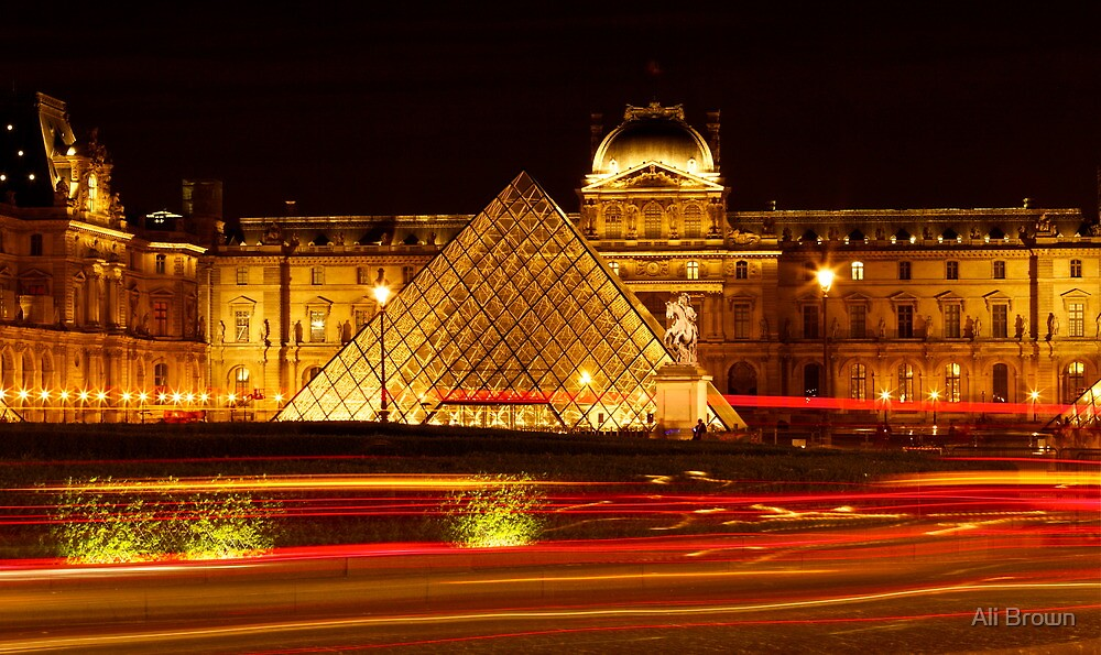 The Louvre (2) by Alison  Brown