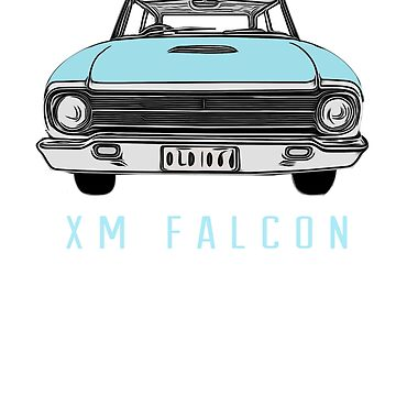 XM Falcon Front in Blue by Ch1ckenMan