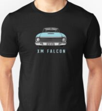 XM Falcon Front in Blue T-Shirt