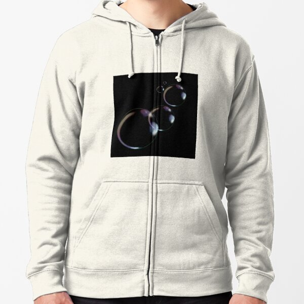 Bubbly Zipped Hoodie