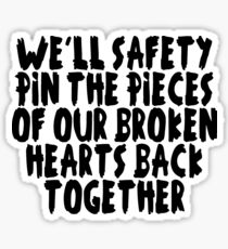 5 Seconds Of Summer-Safety Pin Sticker