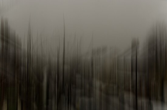Motion Blurs - Window View No. 3 by srle