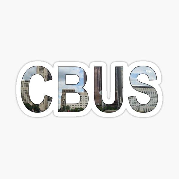 Columbus Ohio CBUS City View Sticker