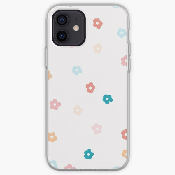70s flowers iPhone Soft Case