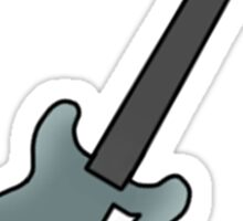 Luke's Guitar  Sticker