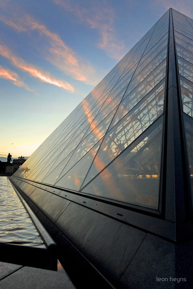 Shapes at the Louvre by Leon Heyns