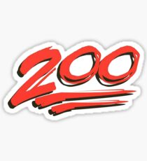 Keep it 200 ! 100 emoji Sticker