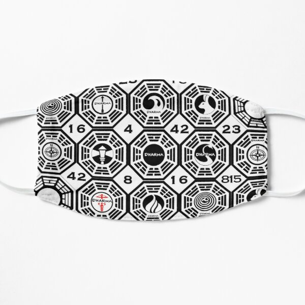 Lost Dharma Initiative Flat Mask