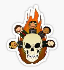 Ghost Riders Sticker